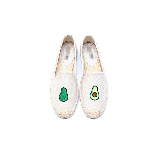 【Soludos】美國經典草編鞋-塗鴉系列草編鞋-酪梨 0