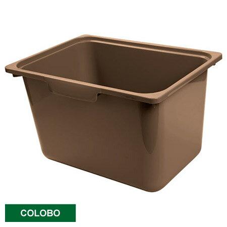 COLOBO收納盒 深型 BR 深褐
