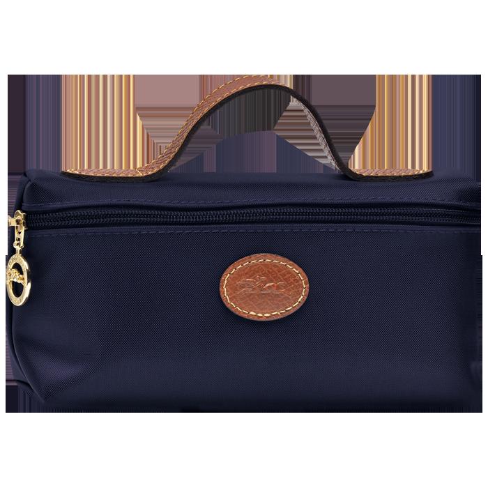 【LONGCHAMP】 LE PLIAGE 化妝包 - 深藍