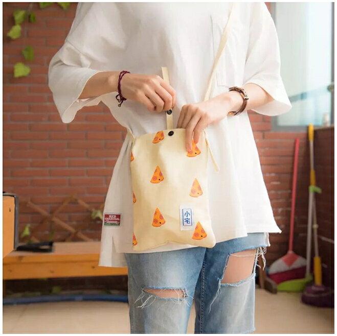 【NaYi】 韓國復古肩背包 肩背袋 手機袋 手機包 側背包 帆布包 小宅包 包包 後背包 購物袋 化妝包 3
