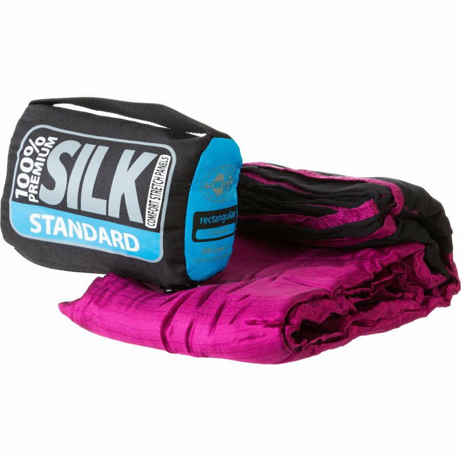 ├登山樂┤ 澳洲 Sea To Summit 100% Premium Silk Travel Liner 彈性絲質睡袋內套-標準型 # ASILKCSSTD