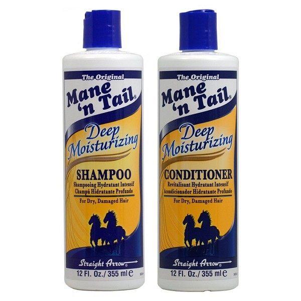 美國Mane'ntail箭牌馬用深層保濕洗髮精潤絲精355ml12oz瓶◆德瑞健康家◆