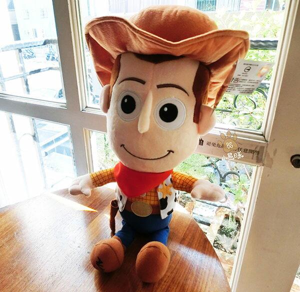 小熊日系*玩具總動員胡迪Q版娃娃 胡迪警長 布偶 玩偶 造型娃娃 Toy Story 迪士尼 皮克斯