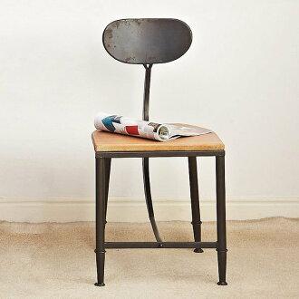 《Chair Empire》Loft風椅凳 法國工業風 法式鐵藝餐椅 松木弧形 美式後現代做舊