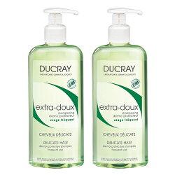 DUCRAY護蕾 溫和保濕洗髮精(基礎型)400ml(2入組)