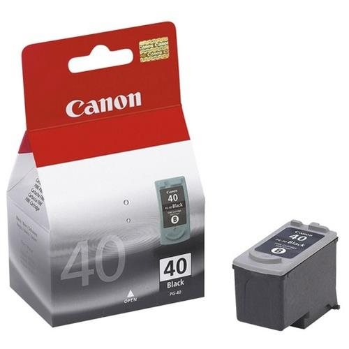 Canon PG-40 Twin Pack Black Ink Cartridge - Inkjet - Black 0