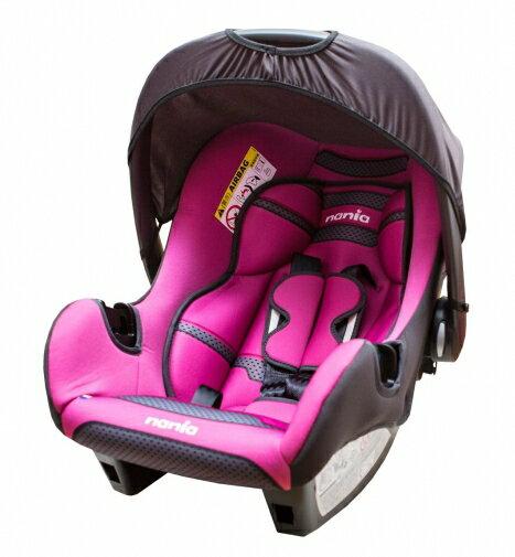 『121婦嬰用品館』納尼亞 提籃式汽座 - 素粉 FB00018 0