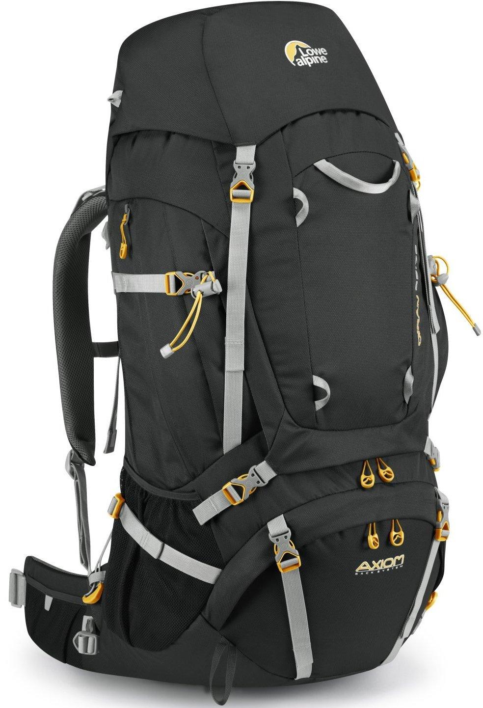 Lowe Alpine 後背包/背包客/健行/登山背包 Diran 65-75 登山包/大背Axiom FMP93-AN煤炭黑