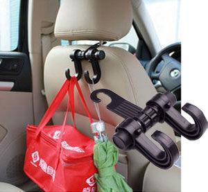 Loxin【SK967】汽車坐椅掛勾 掛鉤 椅背掛勾 汽車收納 椅背收納 汽車用品 汽車精品