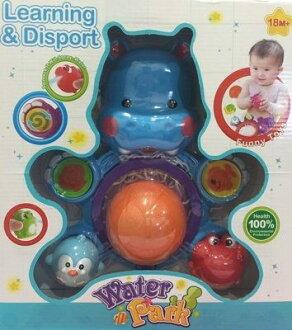 『121婦嬰用品館』豐力富 童趣河馬洗澡組