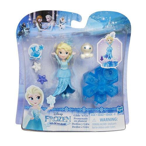 ~Disney 迪士尼~冰雪奇緣 ~ 艾莎公主小雪人旋轉組