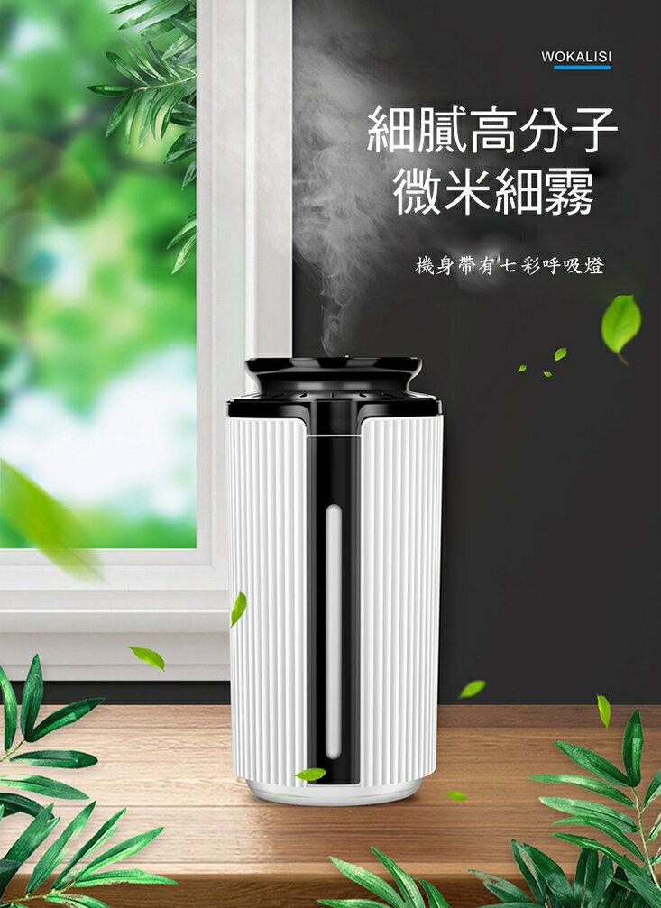 [現貨]日系水氧機 空氣加濕器 精油燈 小夜燈 薰香機 香薰機 靜音噴霧機 新大容量USB香薰加濕器
