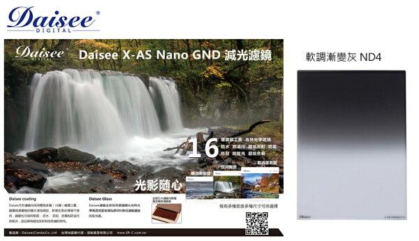 ◎相機專家◎DaiseeX-ASNanoGND4100x150mm0.6Soft方形漸層鏡LEE公司貨