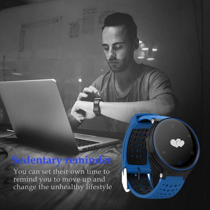 Bluetooth Smart Watch Heart Rate Monitor Blood Pressure Waterproof Smartband 3