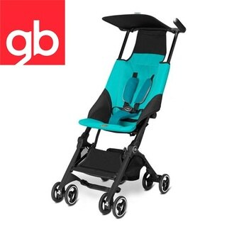【Goodbaby】Pockit 折疊嬰兒手推車(水藍色) CAPRI BLUE 616230005