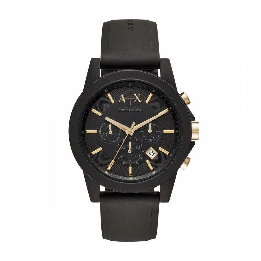 WATCH UN A X Armani Exchange 搭簡約休閒紳士套錶組 AX7105 【Watch-UN】