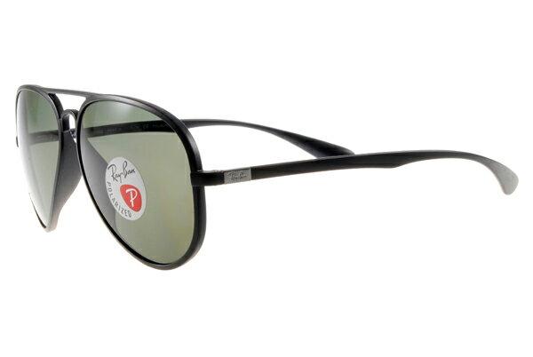 Ray Ban 雷朋 黑 太陽眼鏡 RB4180 限量 輕量化 4