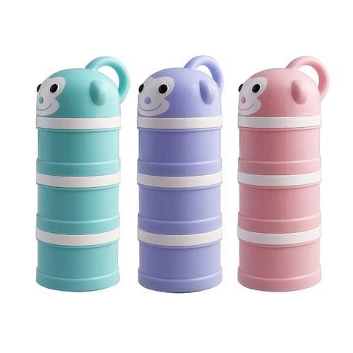 小小家 BabyTalk可愛動物奶粉分裝盒-小猴子(三色)★衛立兒生活館★