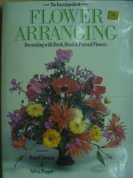 ~書寶 書T2/ _WGS~Flower Arranging_Rona Coleman