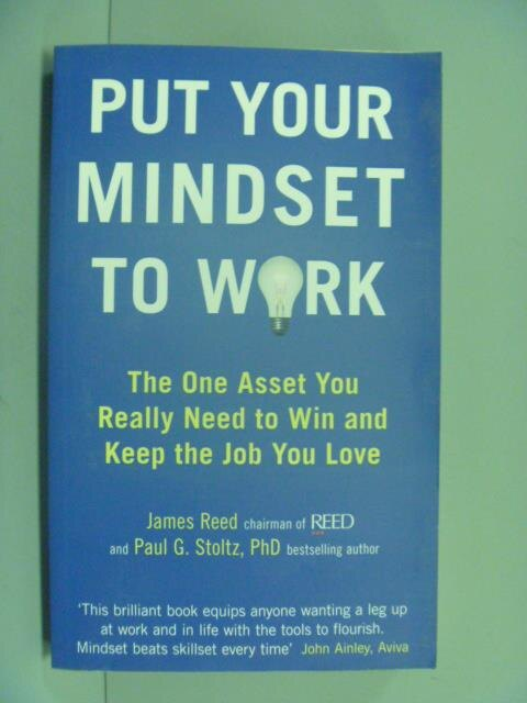 ~書寶 書T7/勵志_GFO~Put Your Mindset to Work  nbsp