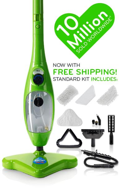Steam mop H2O五合一蒸氣拖把 多功能拖把 除臭拖把 高溫殺菌