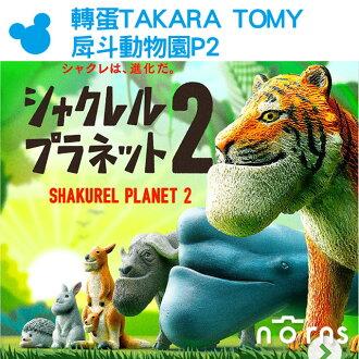 NORNS【轉蛋TAKARA TOMY戽斗動物園P2】日本扭蛋公仔玩具 熊貓之穴 厚到星球 刺蝟兔子老虎 厚道