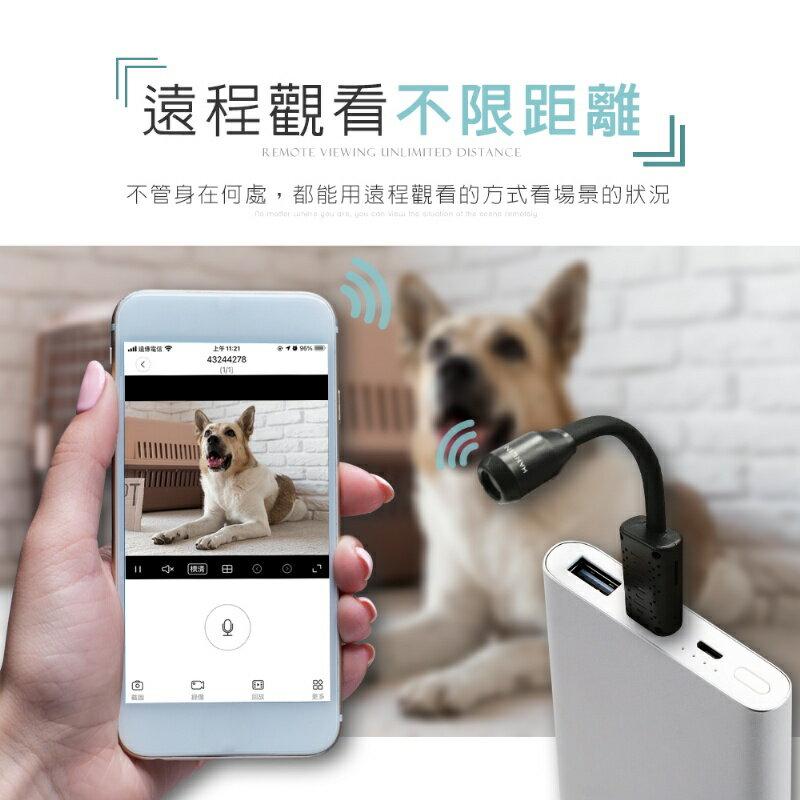 HANLIN-UCAM 迷你USB無線密錄監視器蛇型攝影機