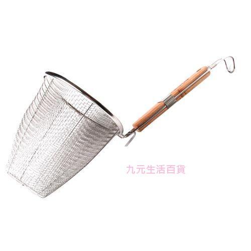 【九元生活百貨】木柄麵切 撈麵杓 切麵