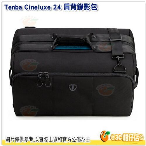 TenbaCineluxe24戲影肩背錄影包637-504黑公司貨相機包醫生包側背包
