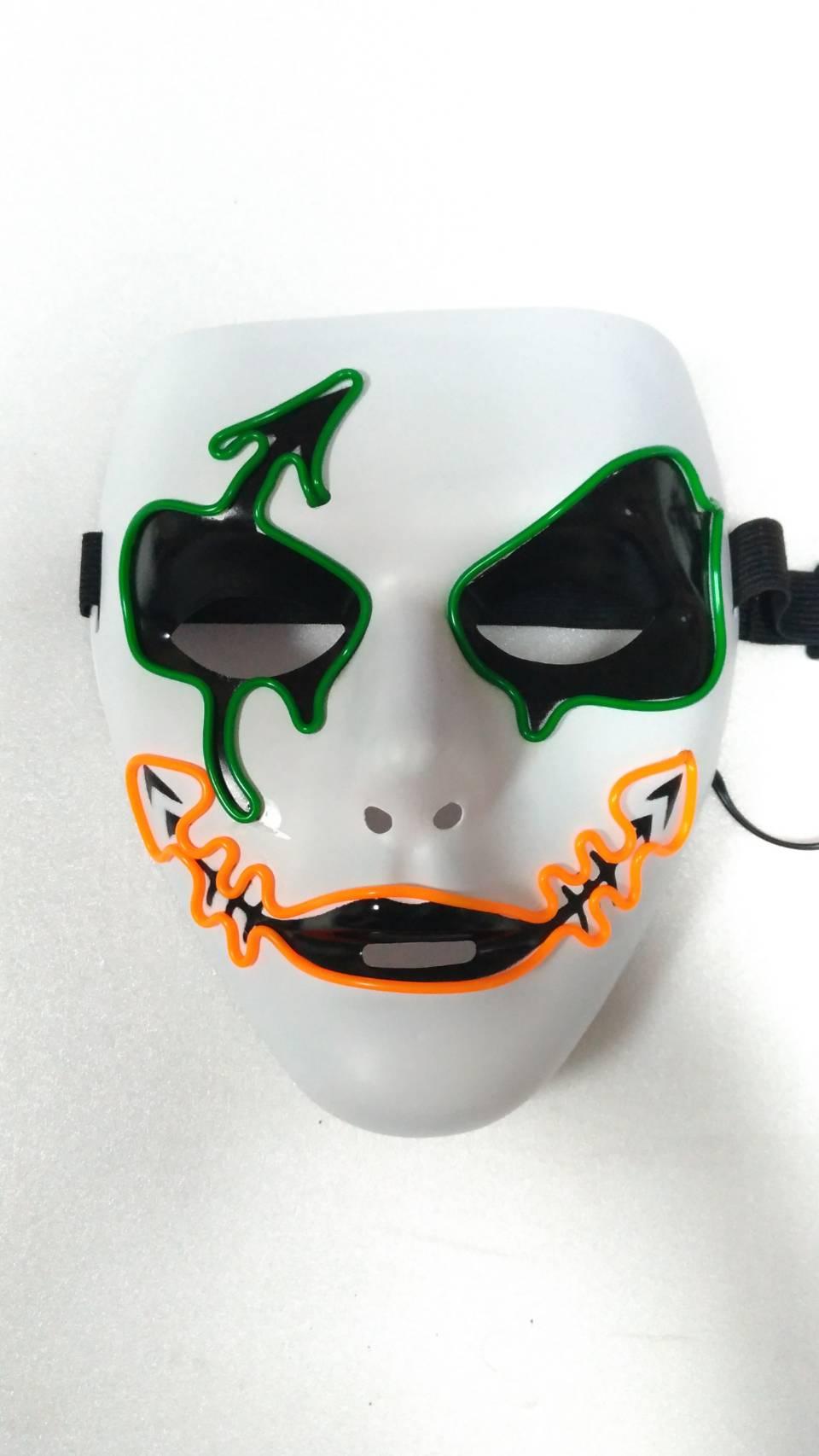 EL 冷光面具(蝙蝠小丑) 奪魂鋸 杰森殺手 死神/眼罩 黑崎一戶 cosplay【塔克】