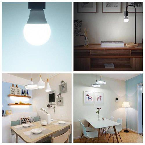 Set of 8pcs LED Light Bulb 85-265V 1080LM E27 Lighting Home Office 12W Cool White 2