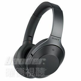 【曜德★70週年】SONY MDR-1000X 黑色 無線降噪藍芽 耳罩式耳機 可折疊★免運★送經典收納包+收納盒★