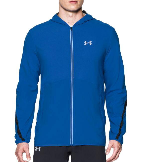 《UA出清5折》Shoestw【1289388-789】UNDER ARMOUR UA服飾 慢跑外套 運動外套 寶藍色 男生