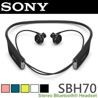 SONY SBH70 防水無線藍牙耳機 ◆震撼音效/輕盈舒適/抗噪技術/IP57