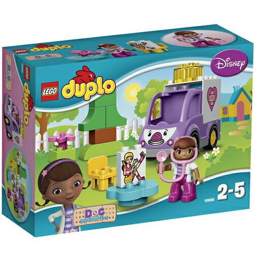 樂高積木LEGO《 LT10605 》2015 年Duplo 得寶幼兒系列 - 玩具小醫生之羅西救護車