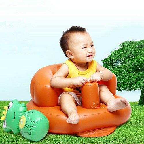 【現貨】充氣式寶寶沙發餐椅 充氣椅 兒童椅 幼兒椅 學習椅 洗澡椅