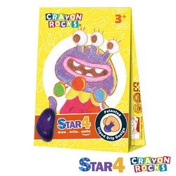 美國酷蠟石Crayon Rocks 4色魔術師斯達兒