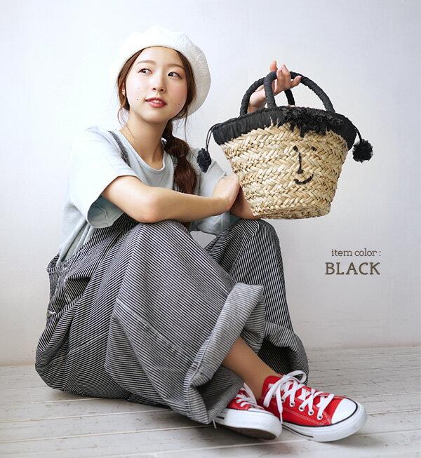 日本e-zakka / 流蘇微笑設計手提包 / 21103-1900075 / 日本必買 代購 / 日本樂天直送(4500) 7