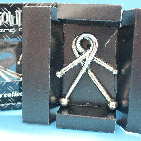 魔術道具 加粗白鐵智力環扣 智力鐵環(大黑盒 / 共有6款)一款入 { 促90 } ~5383 5