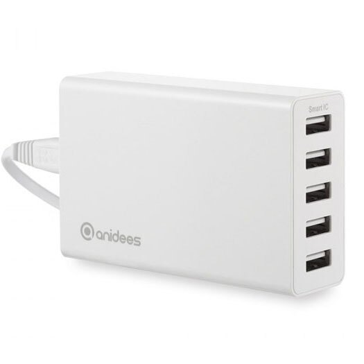 anidees 5 port USB 充電器