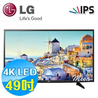 LG樂金 49吋 4K LED Smart 液晶電視 49UH610T