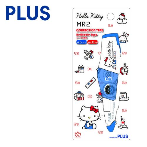 【三麗鷗限定版】PLUS 普樂士 WH-645 MR2 智慧型滾輪修正帶 ( 5mm x 6M ) 【凱蒂貓Hello Kitty】2  立可帶 開工 開學用品