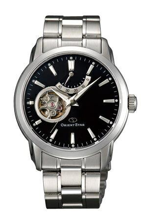 Orient 東方錶(SDA02002B)東方之星小鏤空機械錶/黑面39mm
