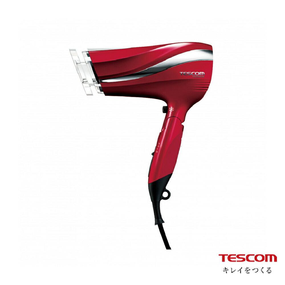 【領券現折+滿三千點數10%回饋】TESCOM 防靜電大風量吹風機-速乾大風量 TID2200TW 1