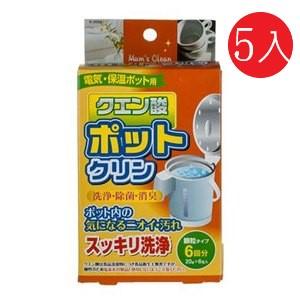 日本紀陽熱水瓶清潔劑60gEC010155入組
