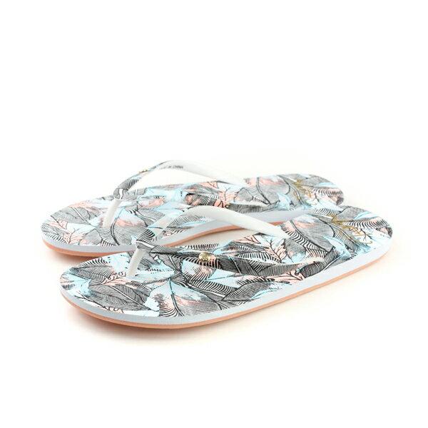 ROXY 夾腳拖鞋 迷彩 女鞋 no028