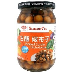 《小瓢蟲生機坊》味榮食品 - 古釀破布子(全素) 375g/罐 調味料