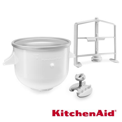 KitchenAid 桌上型 攪拌機 冰淇淋機配件組 (帽環組)