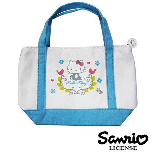 sightme看過來購物城:【三麗鷗正版】HelloKitty凱蒂貓北歐風手提袋便當袋帆布袋三麗鷗Sanrio-005145