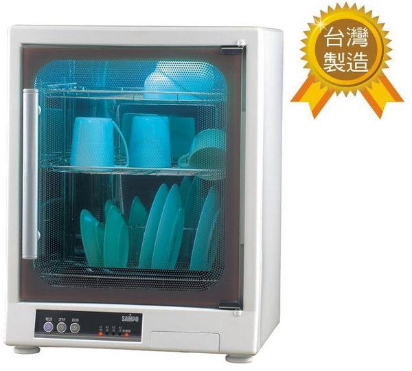 (週末特價$3680)【聲寶】光觸媒除臭烘碗機(三層)KB-GD65U 保固免運-隆美家電